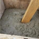 Säule Beton einfüllen