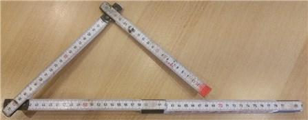 Ein einfacher Zollstock als Winkelmesser › Heimwerkerkniffe.de