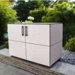 gartenschrank f r mehr ordnung auf der terrasse und im garten. Black Bedroom Furniture Sets. Home Design Ideas
