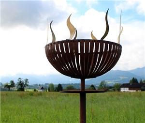 Feuerschale selbstgebaut