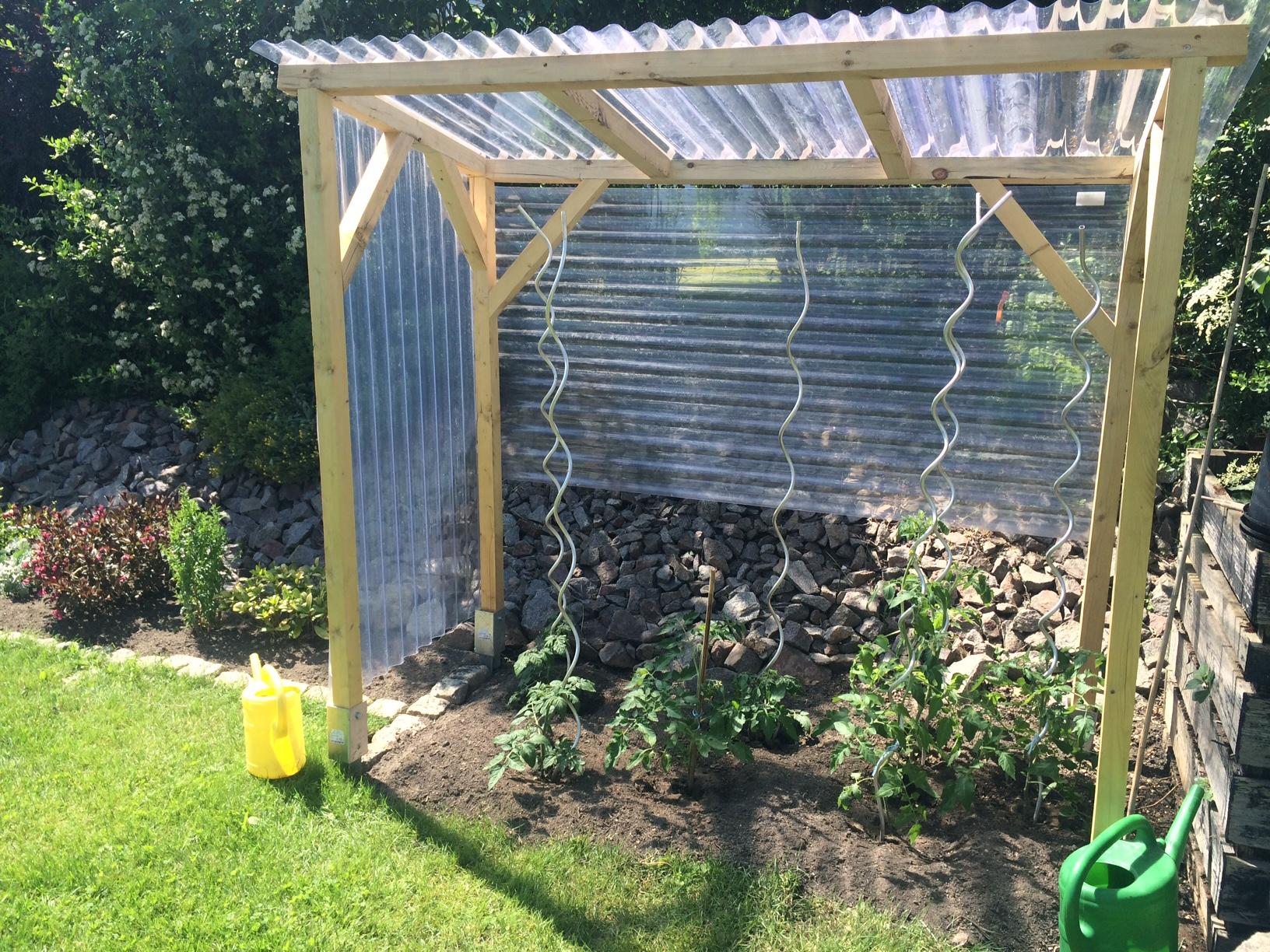 tomatenhaus selber bauen – unser beispiel und bauanleitung