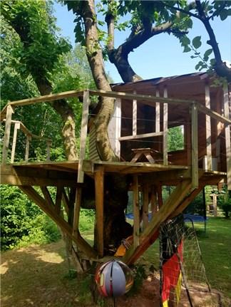 Baumhaus selbstgebaut