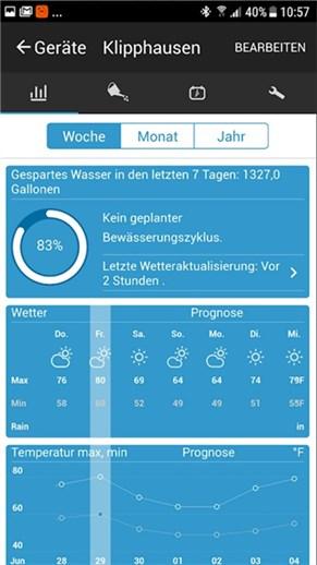 Rainmaschine App