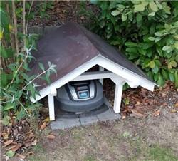 Mähroboter Garage Bauanleitung