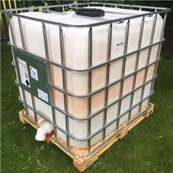 IBC Container als Wasserfass